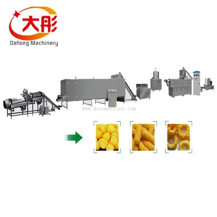 Core filling snacks food procesing line