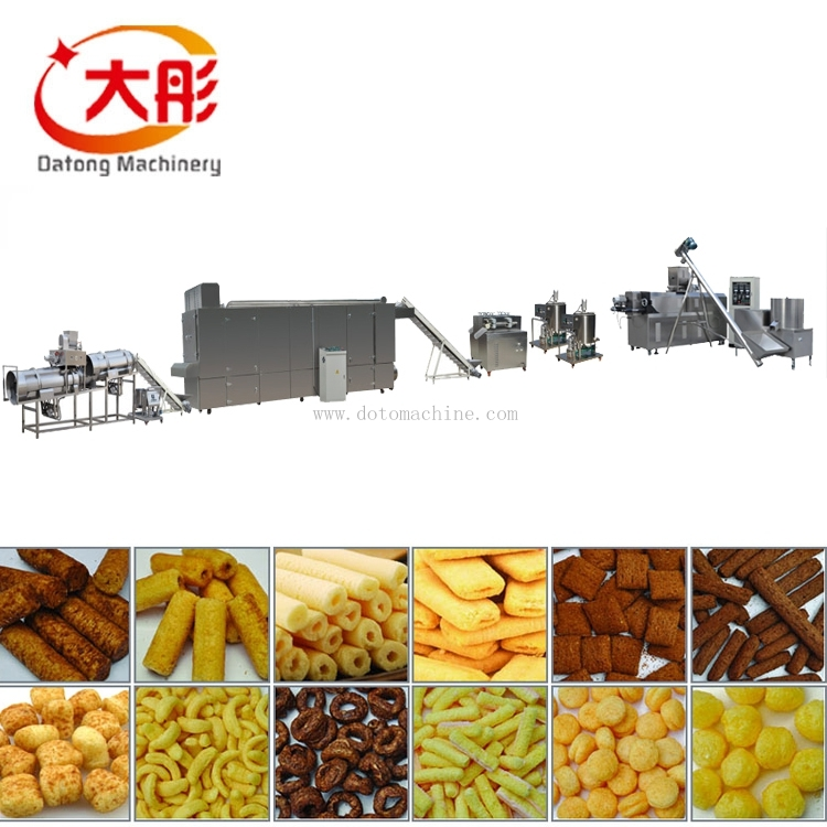 Puffed Snack and Core Filled Snack Processing Line